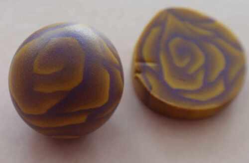 Fimotic.com Fimocane-Anleitung: Rosencane mit Farbverlauf ohne Pastamaschine