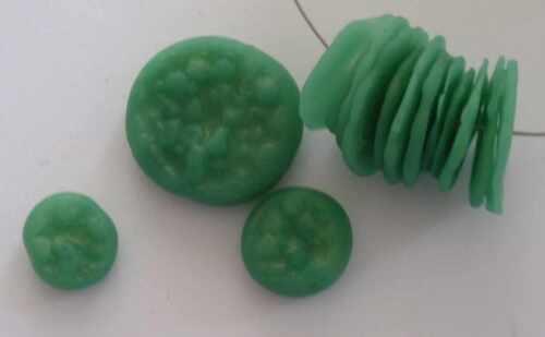 Strukturperlen machen aus Jade-Effect-Fimo