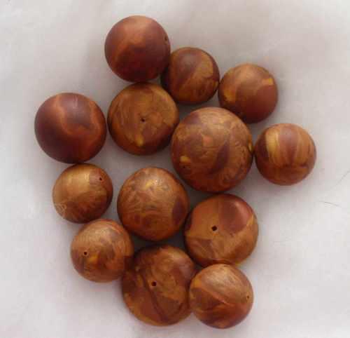 Resten einer Fimocane schnell und simpel zu Perlen verarbeiten