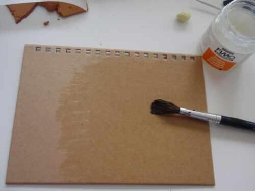 träume auf dickem papier